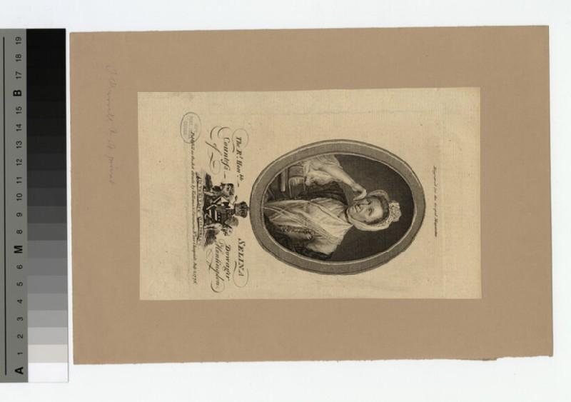 Portrait of Countess Huntingdon (WAHP18564)