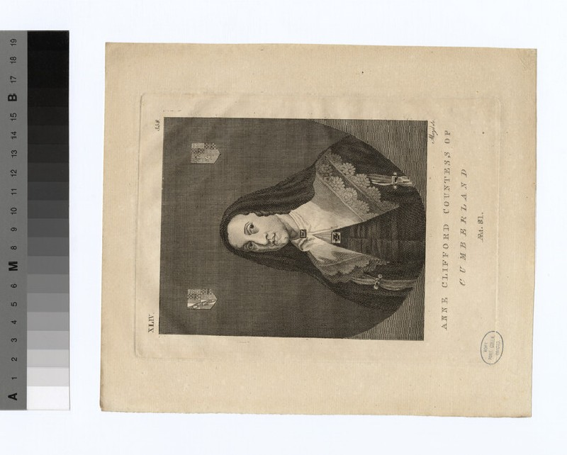 Portrait of Anne Clifford, Countess of Pembroke and Montgomery (WAHP18586.1)