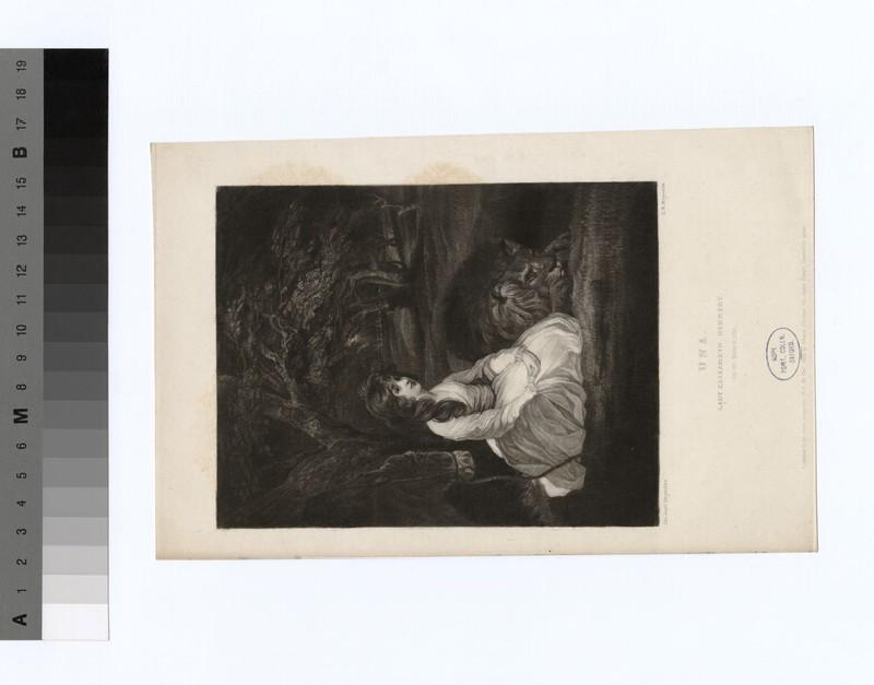 Portrait of Lady Elizabeth Herbert