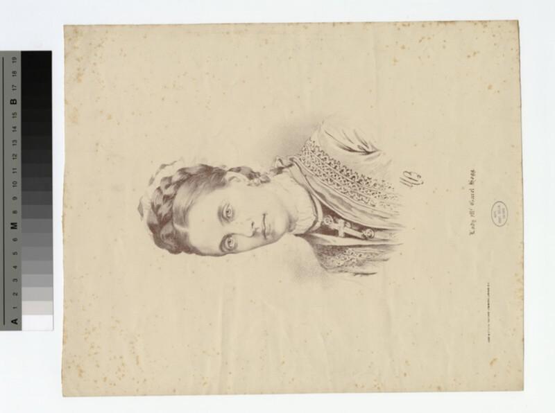 Portrait of Hogg. Lady Garel