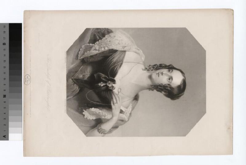 Portrait of Duchess of Roxburghe