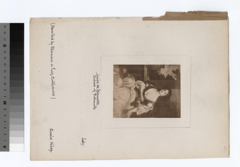 Portrait of Duchess Portsmouth (WAHP18683)
