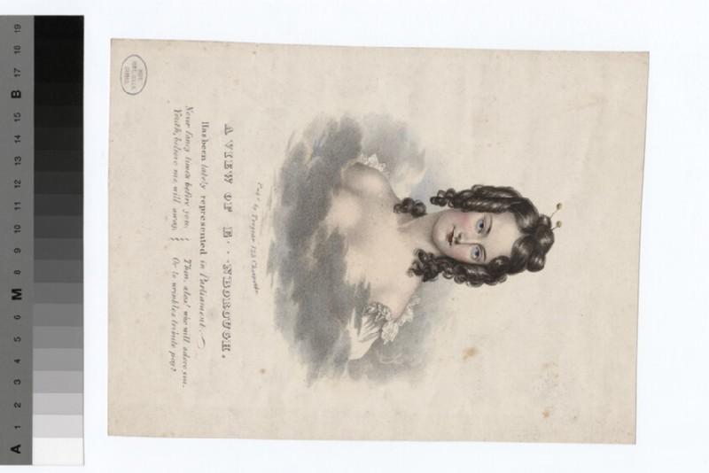 Portrait of Jane Digby, Lady Ellenborough