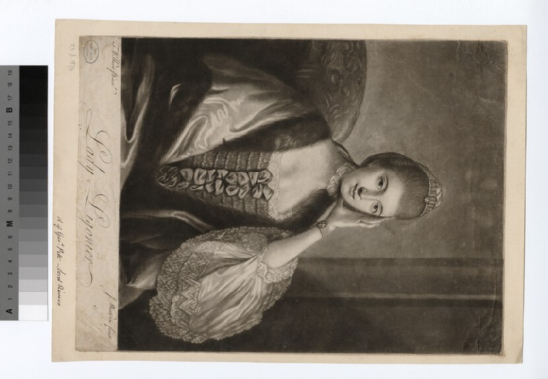 Portrait of Lady Ligonoier (WAHP18728)