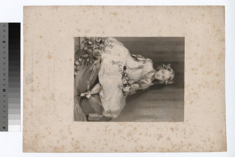 Portrait of the Hon. Frances Diana Manners Sutton