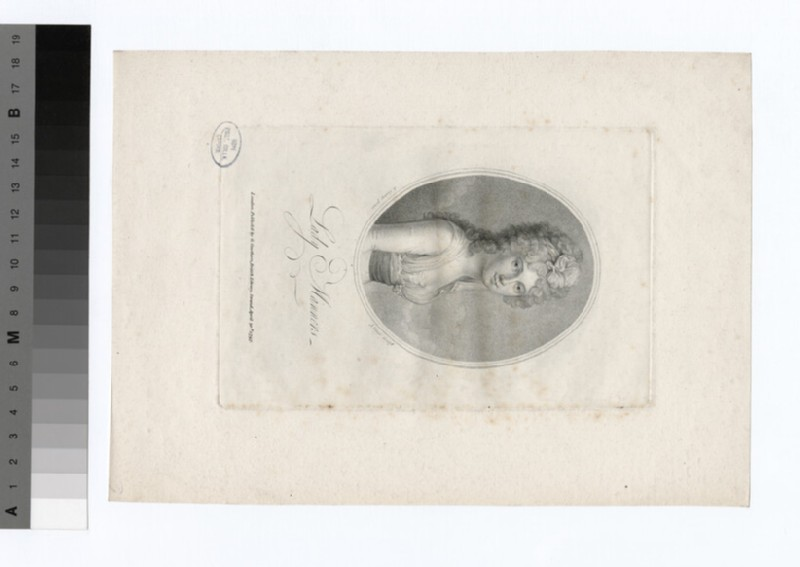 Portrait of Lady Manners (WAHP18745)