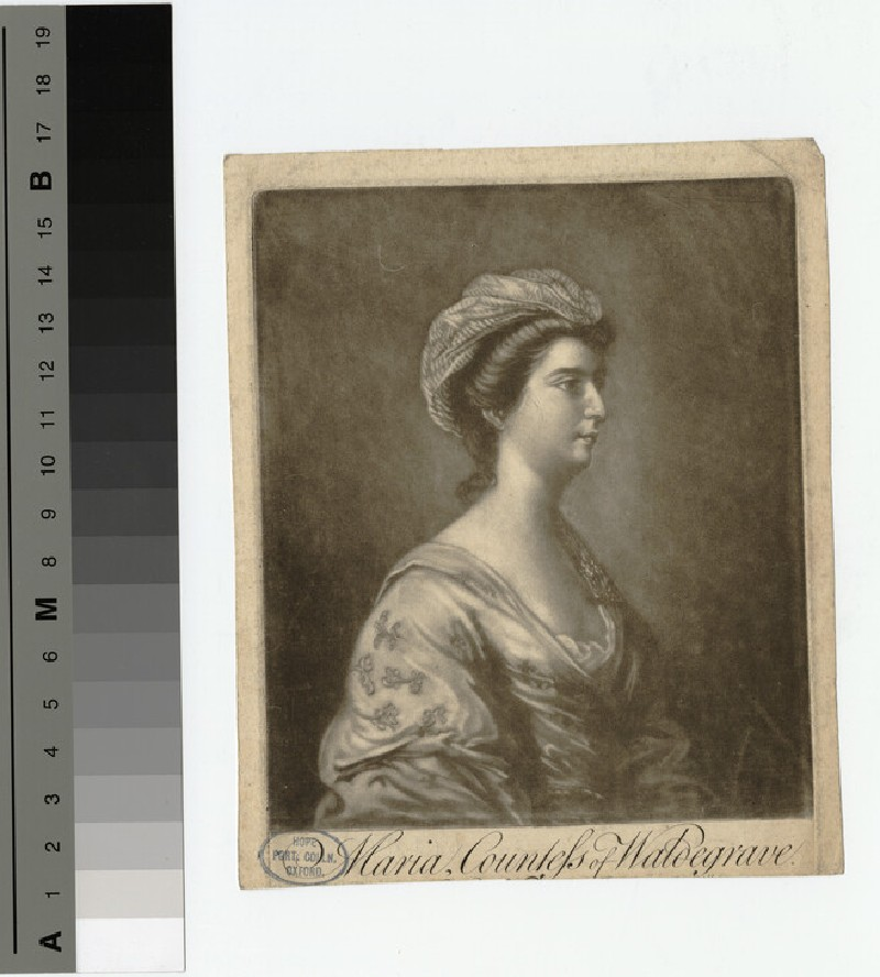 Portrait of Countess Waldegrave (WAHP18755)
