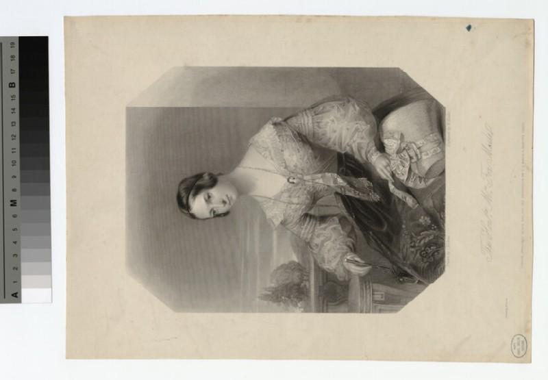 Portrait of the Hon. Mrs Fox Maule