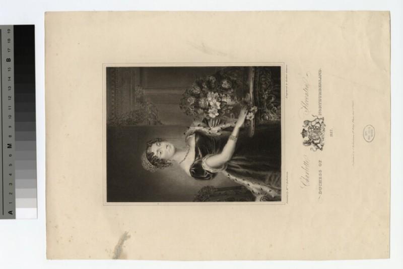 Portrait of Duchess of Northumberland