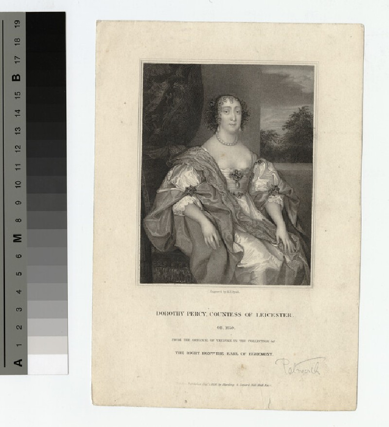 Portrait of Countess Leicester