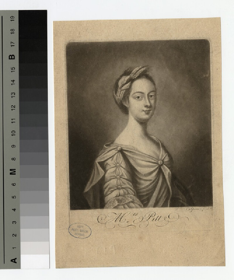 Portrait of Mrs Pitt