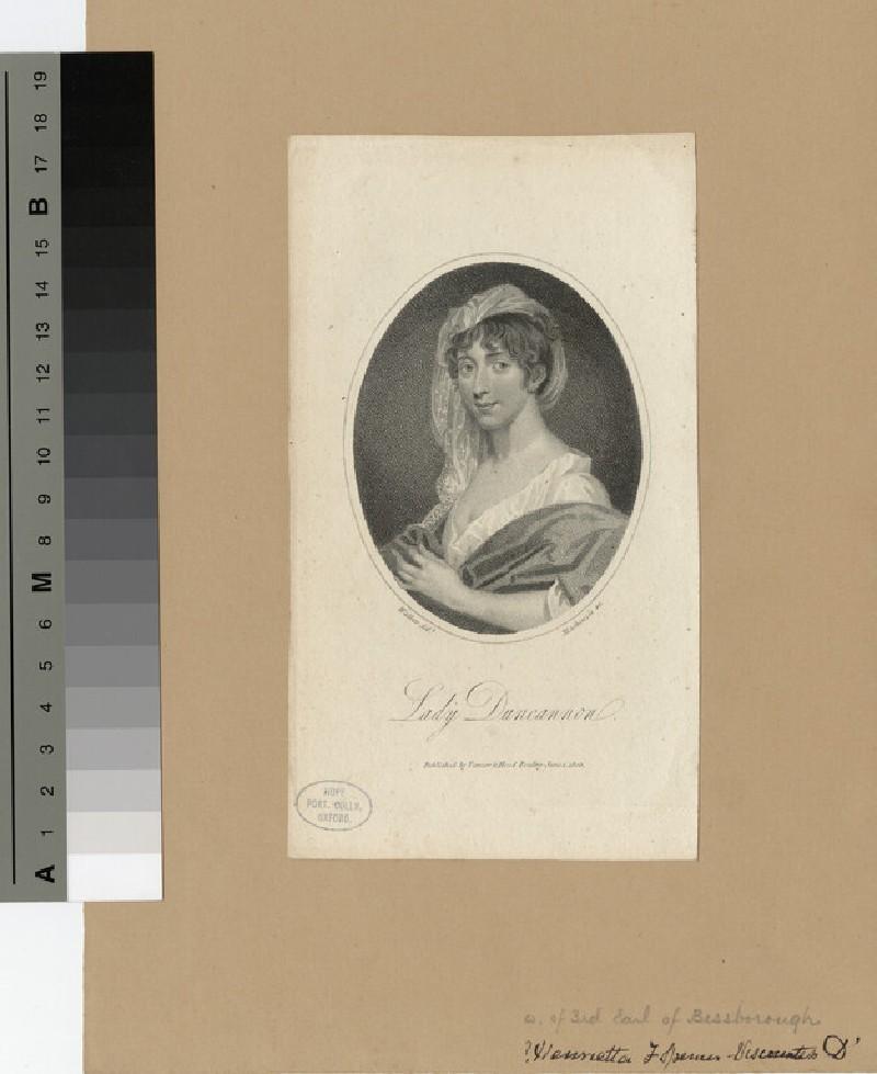 Portrait of Lady Duncannon (WAHP18839)