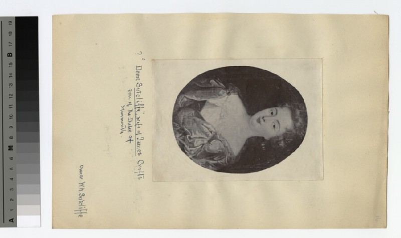 Portrait of 'Dame' Sutcliffe (WAHP18848)
