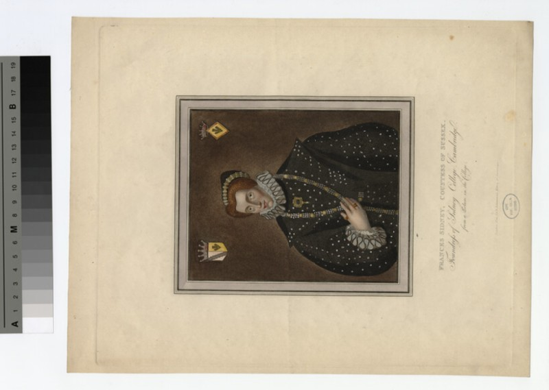 Portrait of Countess (Sidney) Sussex