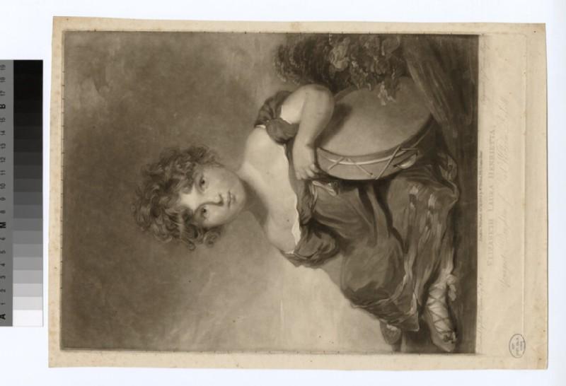Portrait of Elizabeth Laura Henrietta Russell (WAHP18890)