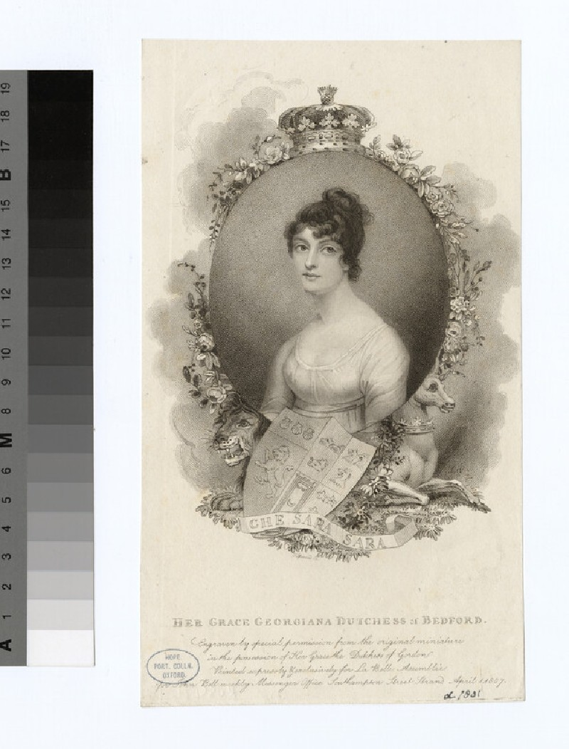 Portrait of Duchess Bedford (WAHP18893)