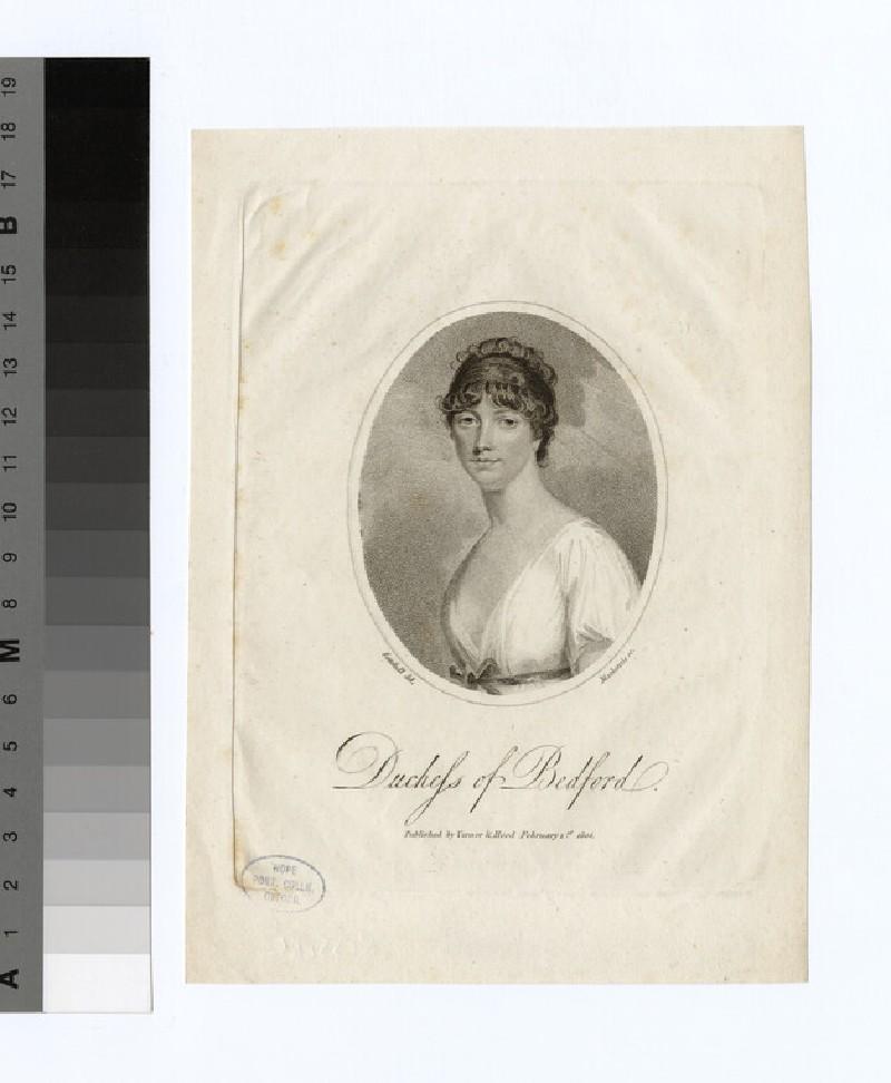 Portrait of Duchess Bedford
