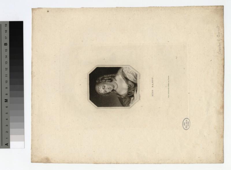 Portrait of Miss Bagot (WAHP18909)