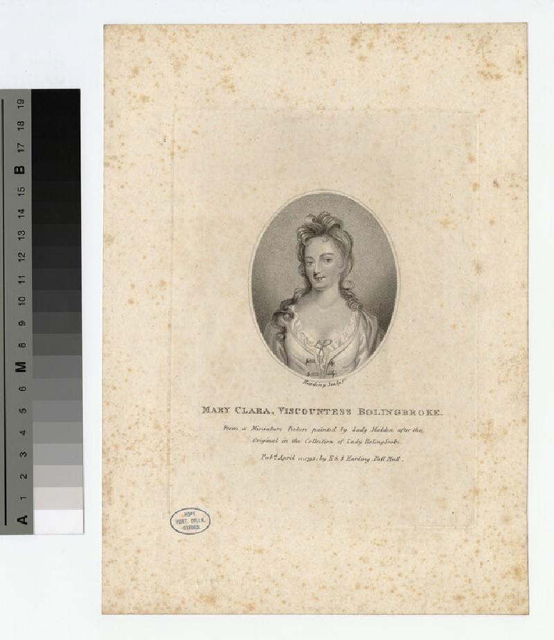 Portrait of VisCountess Bolingbroke