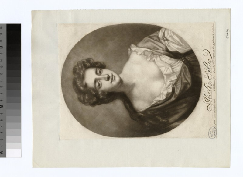 Portrait of Madam Sidley, Countess of Dorchester (WAHP18941)