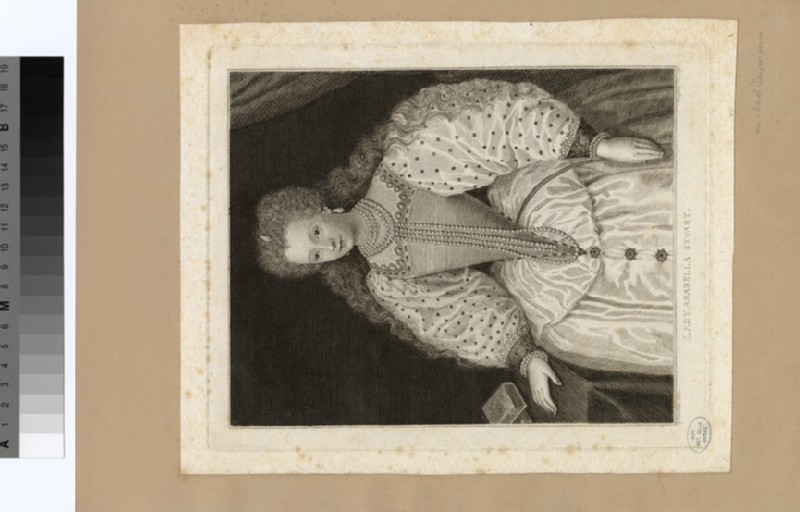 Portrait of Arabella Stuart