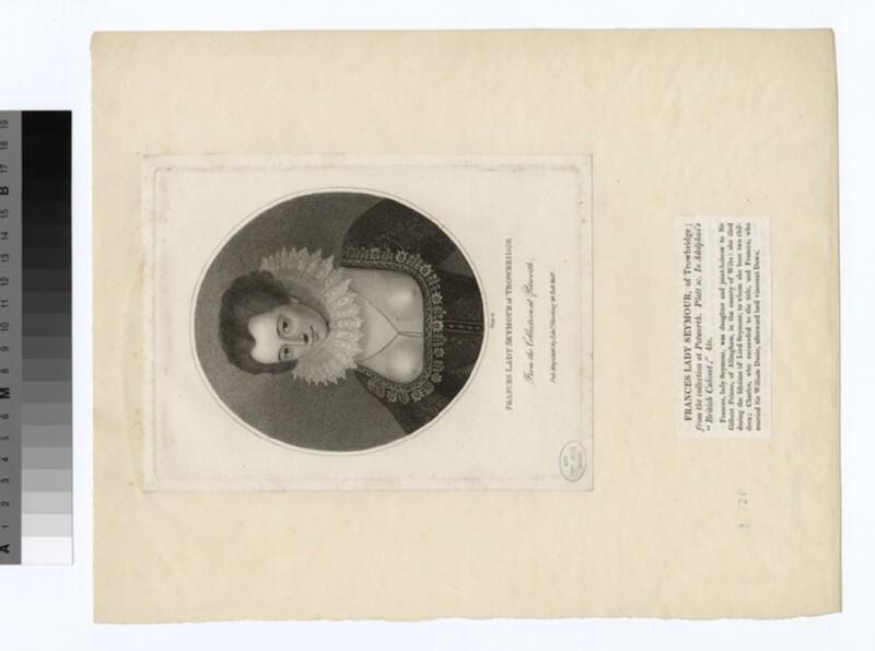 Portrait of Lady Frances Seymour of Trowbridge