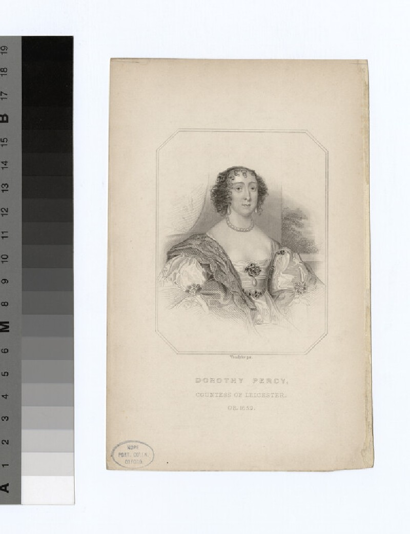Portrait of Countess Leicester (WAHP18964)