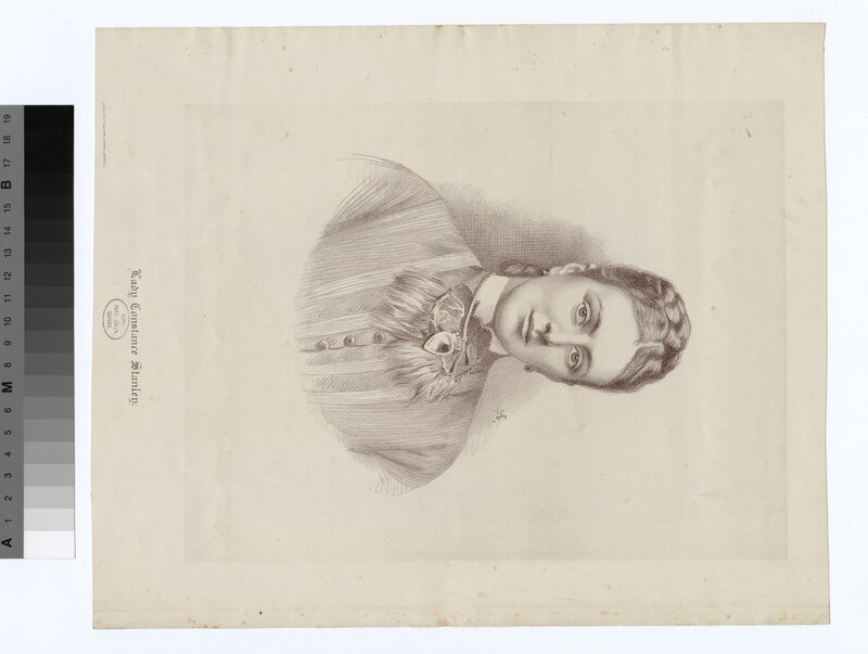 Portrait of Lady Constance Stanley (WAHP19008)