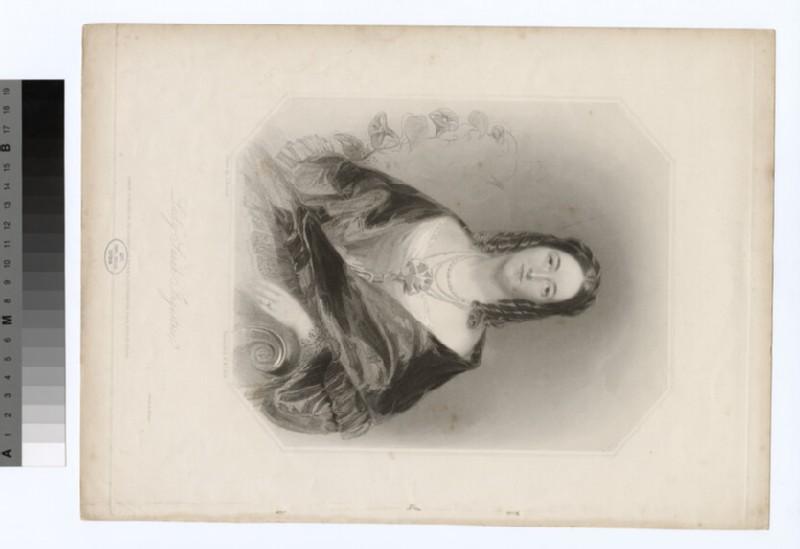 Portrait of Lady Sarah Ingestrie (WAHP19080)