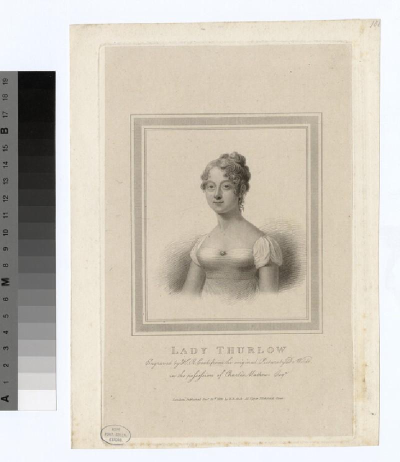 Portrait of Lady Thurlow