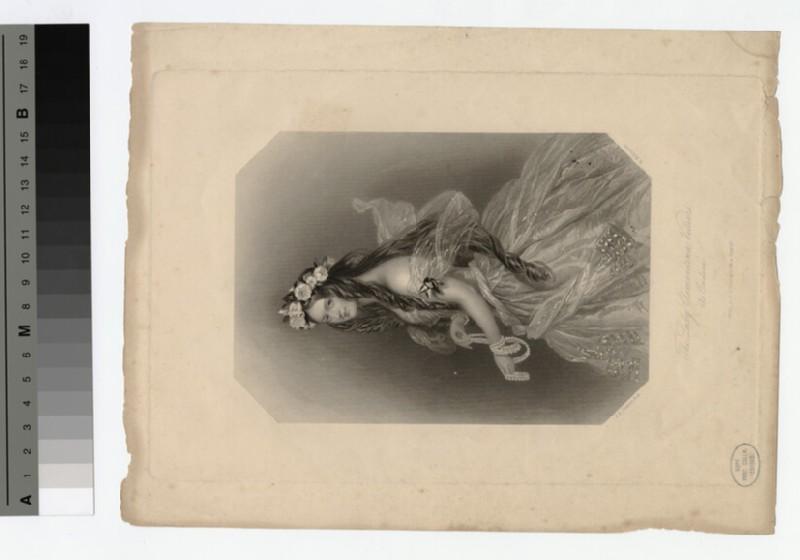 Portrait of Lady Clementina Villiers