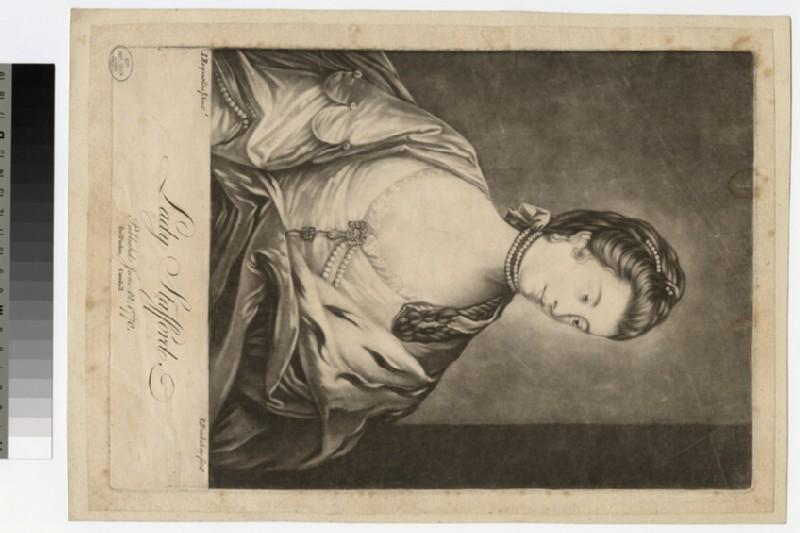 Portrait of Lady Strafford (WAHP19189)