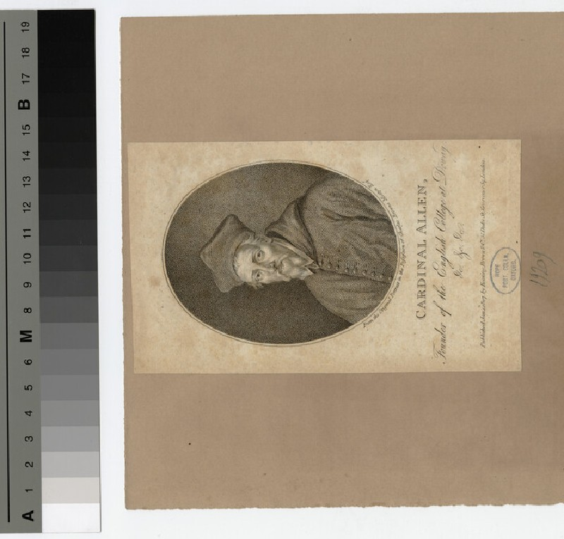 Portrait of Cardinal Allen