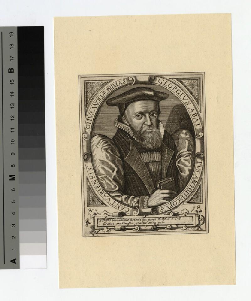 Portrait of G. Abbot