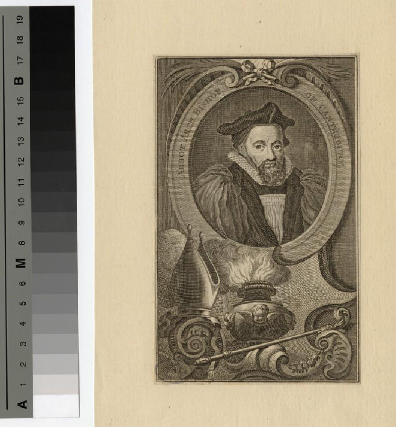 Portrait of G. Abbot (WAHP19244)