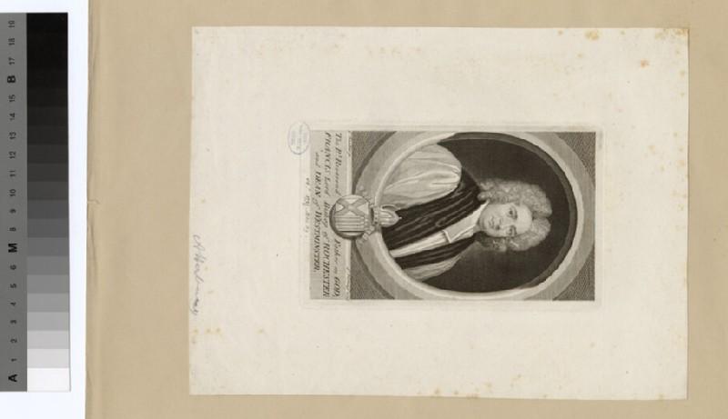 Portrait of Francis Atterbury (WAHP19253)