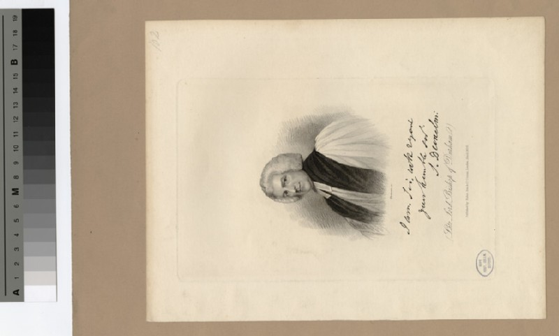 Portrait of Bishop Barrington