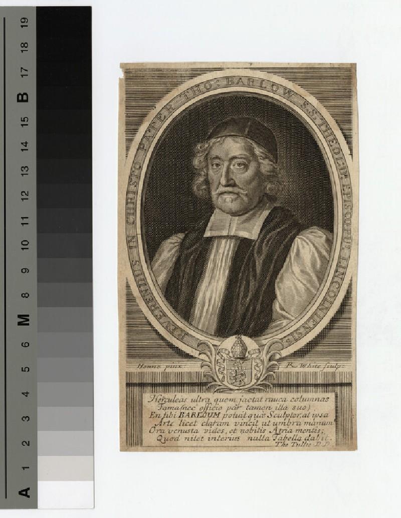 Portrait of Thomas Barlow (WAHP19310)