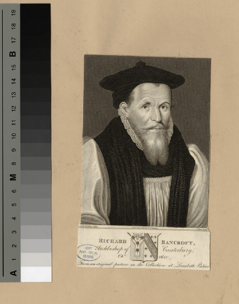 Portrait of Bishop Bancroft