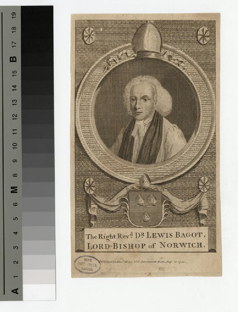 Portrait of Bishop Bagot (WAHP19325)