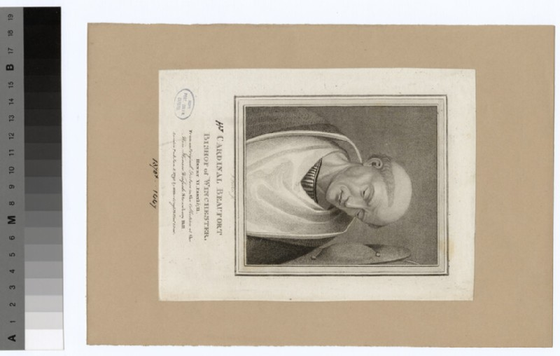 Portrait of Cardinal Beaufort