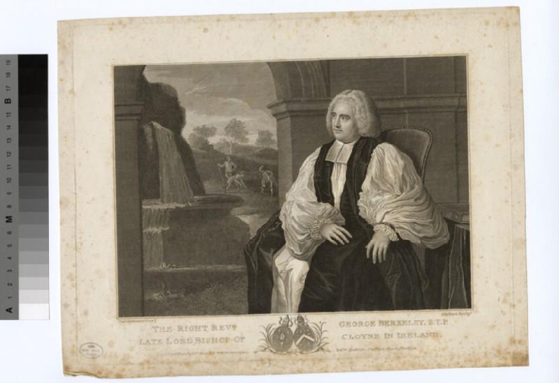 Portrait of Bishop Berkeley