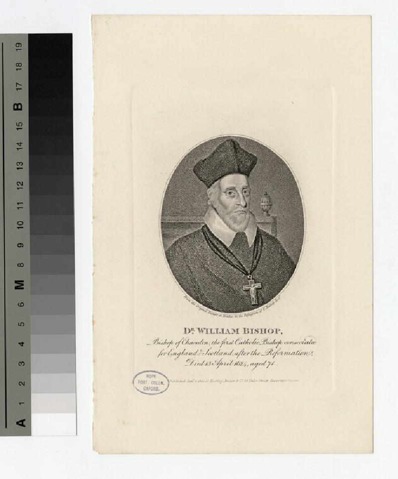 Portrait of Dr W. Bishop (WAHP19406)