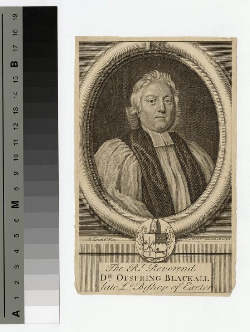 Portrait of Bishop Blackall (WAHP19408.1)