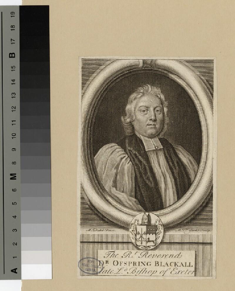 Portrait of Bishop Blackall