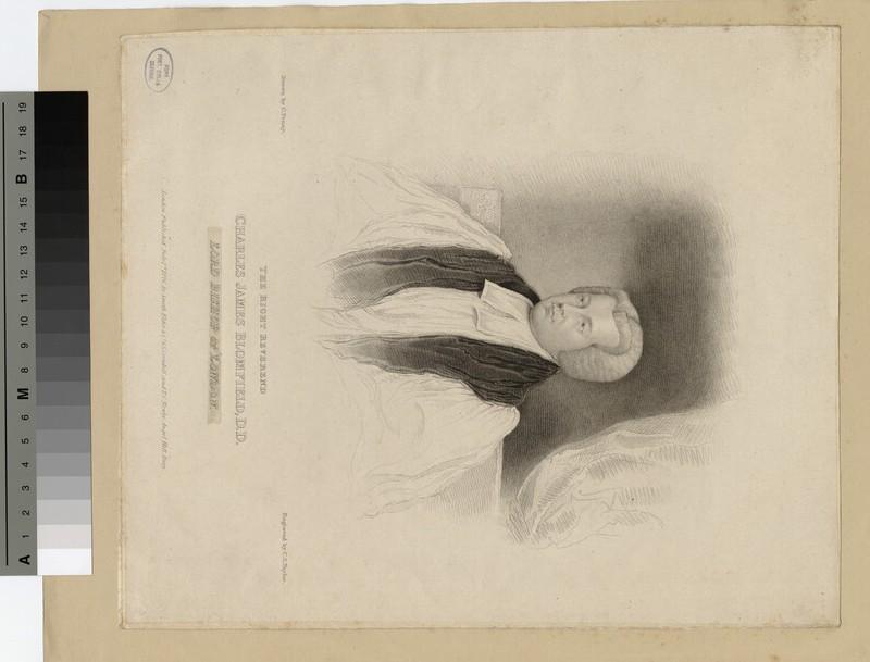 Portrait of Bishop C. J. Blomfield