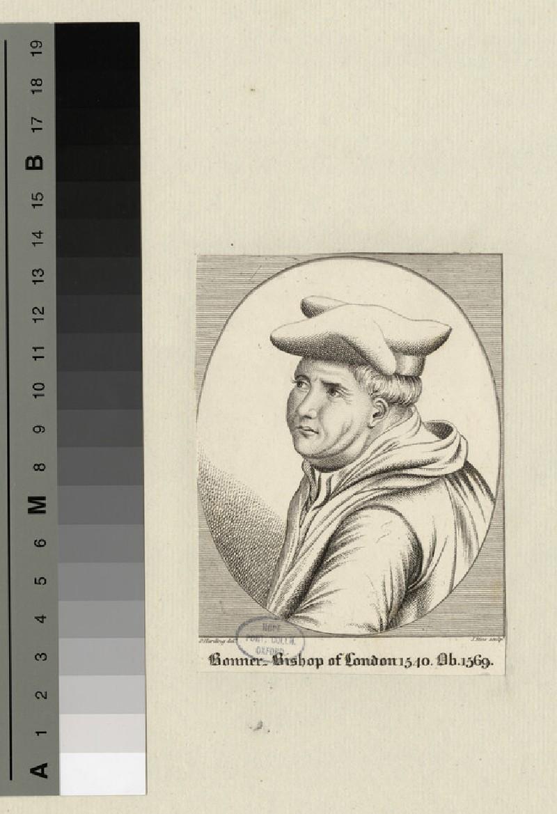Portrait of Bishop Bonner (WAHP19421)
