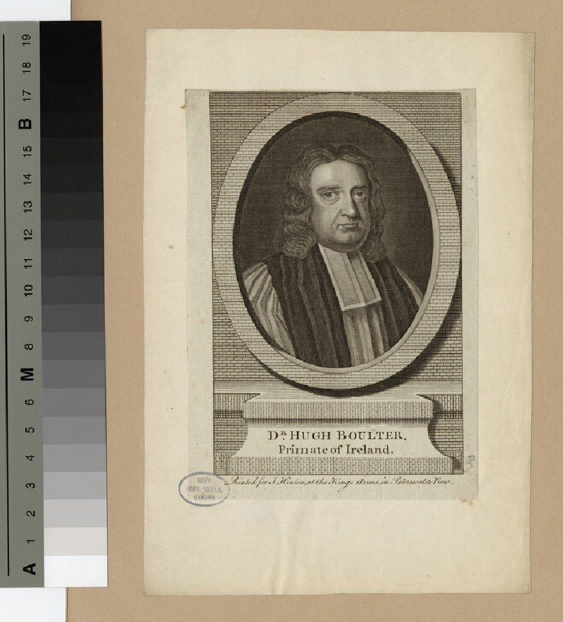 Portrait of Archbishop Boulter (WAHP19428)