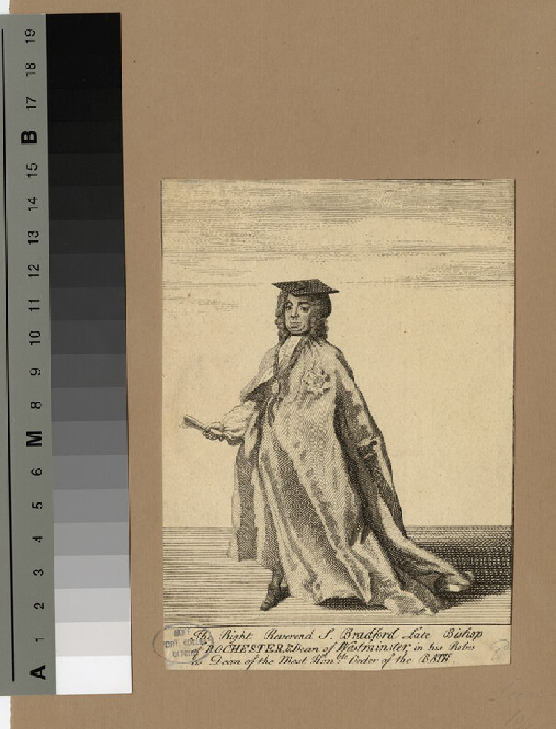 Portrait of Bishop Bradford