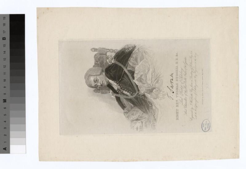 Portrait of Bishop Burgess
